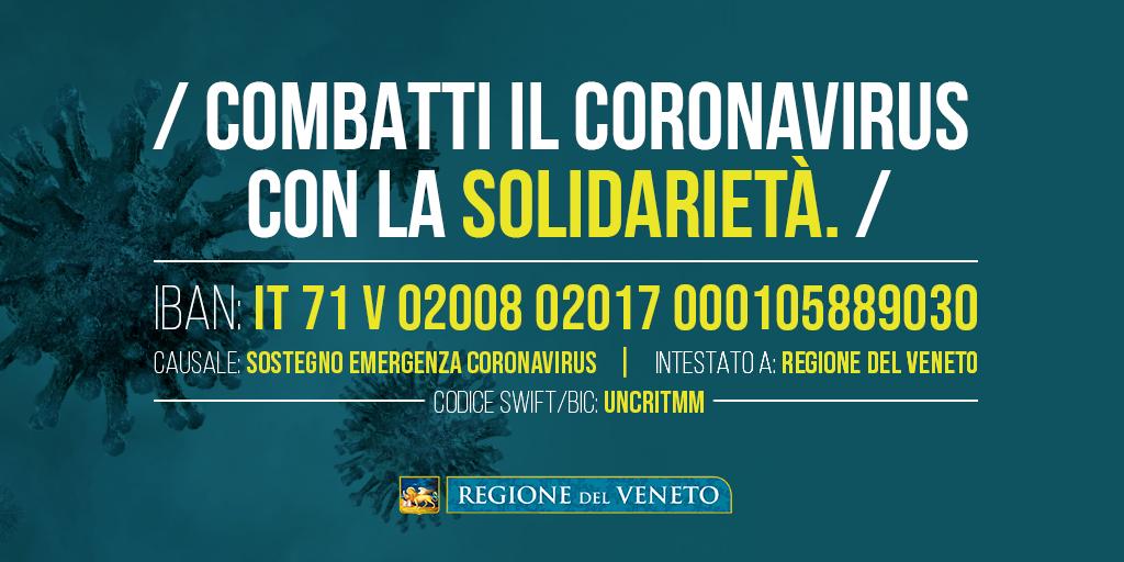 coronavirus donazioni