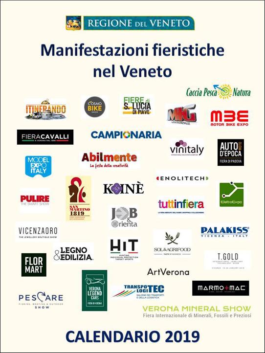 Calendario Fiere Alimentari 2020.Regione Veneto Calendario Fieristico